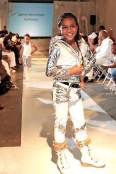 Lil Super Model Leimonie V rockin' J'aime Deorosn's Fashions lookin Hot!