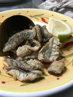 Fried anchovies!