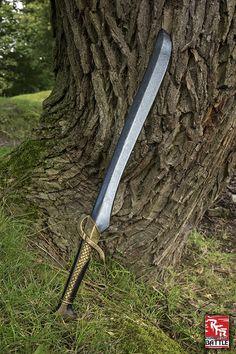 Ready for Battle Schwert Elfen geflochten Länge: 75cm Qualitätsmerkmale: Bei dieser LARP-Waffe handelt es sich um ein Produkt der Spitzenklasse, aus dem Hause Epic Armoury. Diese neue Serie von Epic Armoury bietet Dir noch...