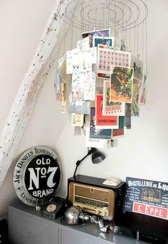 Handmade Home Decor Postcard Display, Diy Postcard, Postcard Wall, Printable Postcards, Wedding Postcard, Postcard Design, Handmade Home Decor, Diy Home Decor, Deco Originale
