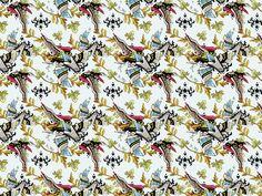 Wallpaper pattern design 3 Edouard Artus ©2012 by Edouard Artus, via Behance