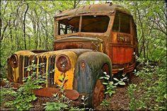 Abandoned Car by Joe Balynas