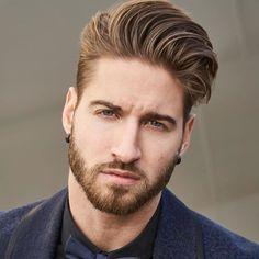 Inspiração de Penteado & Barba  Men's Hairstyle & Beard Inspiration  #MenStyle  Curtiu? Acesse Loftmasculino.com para  Dicas de Estilo...