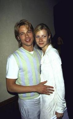 Gwyneth & Brad Pitt 1994 - 1997 (engaged from 1995)