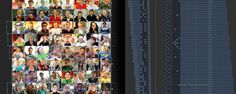 A chessboard made out of 64 HD clips - all made possible with FCPX and a new Mac Pro. Svein...