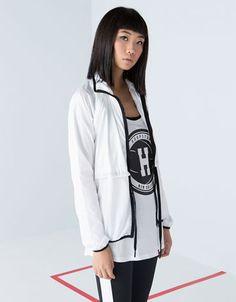 Bershka Ukraine - Bershka sports vest-jacket