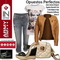 ¿Qué opinan sobre las prendas de nuestro look?   Outfits gracias a Cool Town y Almacenes SIMAN Guatemala.