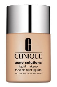 Clinique acne solutions! One of my favorite foundations more of a matte coverage and it really does clear up your skin!