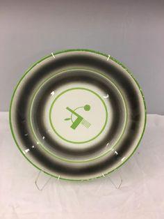 PP- Rundt fat NG Grønt stempel D:32 cm Nest Thermostat, Porcelain, Fat, Stamps, Porcelain Ceramics, China, Tableware