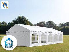 Professzionális tűzálló rendezvénysátor 6x10 m, ponyva PVC 500g/m2 fehér erősített szerkezet Planer, Party, Gazebo, Outdoor Structures, Outdoor Decor, Home Decor, Products, Pavilion, Outdoor Camping