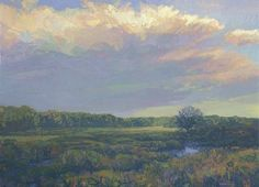 Marsh 22 x 30 inches, oil on canvasOn Nature's Terms: Paintings of Thomas Paquettte