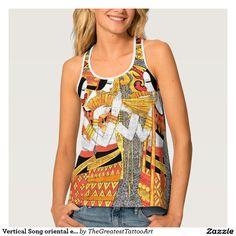 Vertical Song oriental egyptian ladies woman girls Tank Top