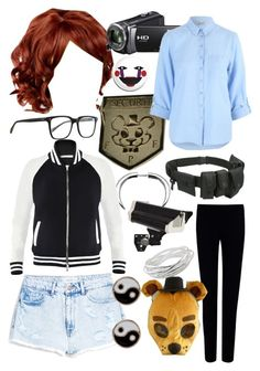 """""""Jeremy Fitzgerald (Human FNAF Girls)"""" by thefnaftheorists ❤ liked on Polyvore"""