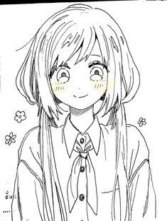 Dark Art Drawings, Anime Drawings Sketches, Anime Sketch, Cute Drawings, Anime Character Drawing, Character Art, Anime Poses Reference, Art Reference, Anime Art Girl