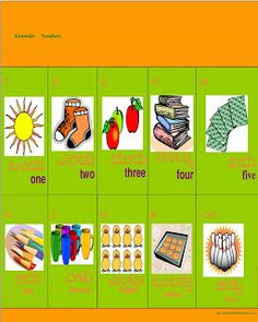 Learn Kannada - Worksheets Summer Camp Crafts, Camping Crafts, Kannada Language, Our Kids, Kids Learning, Worksheets, Numbers, Teaching, Holiday Decor