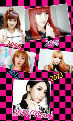 Bom from 2ne1 then and now