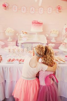 Super Sweet...Pretty in Pink Prima Ballerina Birthday Party for Grace | Baby Lifestyles
