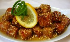 This dish isthe vegan variation of Chinese lemon chicken. The tempeh can also be subbed with pressed extra-firm tofu or vegan chikun. The sauce is lemony, sweet, savory and has just a hint of heat. Ingredients for the Tempeh • 1 package (8 oz) tempeh (or 8 oz pressed and cubed block tofu or vegan …