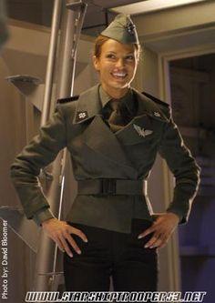Starship Troopers Hero Movie, Movie Tv, Starship Troopers 1997, Jolene Blalock, Swing Era, Cigarette Girl, Interview, Star Trek Series, Live Action Movie