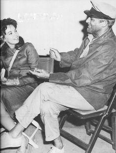 Leslie Caron & Cary Grant