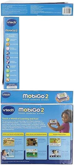 Learning Systems 158695: Vtech Mobigo 2 Touch Learning System - Orange -> BUY IT NOW ONLY: $190.01 on eBay!