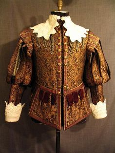 This Image Shows Characteristics Of Both Eras The Cut Of His Doublet Jerkin With Extra Padding