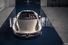 Alfa Romeo Disco Volante #2. Carrozzeria Touring Superleggera, Milano, Italia.