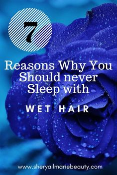 7 Reasons Why you should never sleep with wet hair Diy Beauty, Beauty Makeup, Beauty Tips, Beauty Hacks, Sleeping With Wet Hair, Never Sleep, Skin Care Tools, Aging Process, Setting Powder