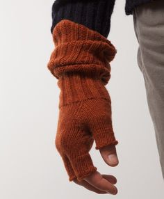 da-i-net. | Fingerless Wristwarmers by ESK Cashmere