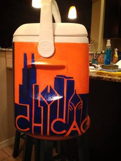 Fraternity Coolers, Fraternity Shirts, Frat Coolers, Pi Beta Phi, Alpha Phi, Ato Cooler, Crafts To Do, Arts And Crafts, Formal Cooler Ideas