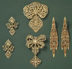 18th Century Portuguese Gold and Diamonds,  Metalwork