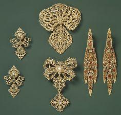 18th Century Portuguese Gold and Diamonds,  Metalwork