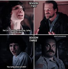 Stranger Things Actors, Stranger Things Quote, Stranger Things Have Happened, Stranger Things Aesthetic, Stranger Things Netflix, Stranger Things Season, Saints Memes, Duffer Brothers, Stranger Danger