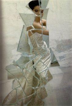 David Seidner for Victor Edelstein, Harper's Bazaar  Queen, 1987
