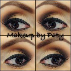 Neutral eye makeup/brown eyes