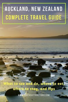 A local's travel guide to Auckland, New Zealand.