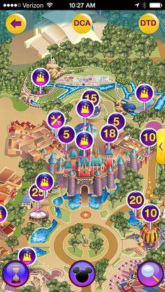 Disneyland apps | Two Disney Darlings: Walkee vs. Mouse Wait