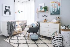 "tarina on Instagram: ""Chet's room is looking super fresh and wonderful with so many delicious @jackandwillow products. If you aren't following this Scandinavian kid's boutique you are definitely missing out. Vanessa is also super sweet so make sure you head on over and take a look!"