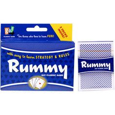 Rummy has been a fun family card game for generations. Dice Games, Activity Games, Fun Games, Games To Play, Fun Activities, Family Card Games, Board Games For Couples, Bubble Fun, Playing Card Games