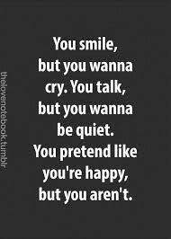 Just sad & feeling empty