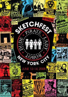 SketchfestNYC '08 Window Display