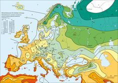 hardiness zones europe map - Google Search