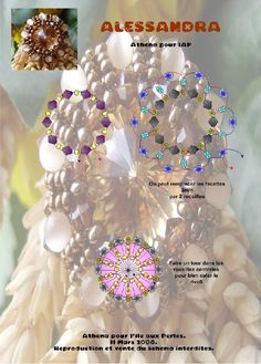 Free pattern for pendant, brooch or ring Alessandra by Athena U need: 1 rivoli or button 10 bicone bea Free Beading Tutorials, Beading Patterns Free, Seed Bead Patterns, Beading Projects, Jewelry Patterns, Free Pattern, Beaded Rings, Beaded Jewelry, Ring Tutorial