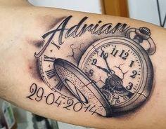 Las 96 Mejores Imágenes De Tatuajes De Relojes En 2018 Tattoo