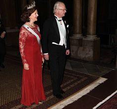 koning carl gustaaf en  koningin silvia 11-12-2016
