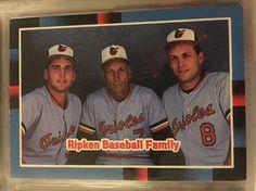 1987 Donruss Ripken Baseball Family 625 Orioles Near Mint Combined s H | eBay