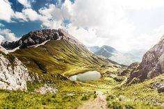 Ruefispitze und Monzabonsee, Lech Zürs am Arlberg