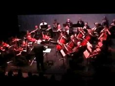 "The Riverside Chamber Symphony. conducted by Philip Bayles, playing the opening (exposition of the first movement) of Beethoven's third symphony ""Eroica"".  The video is from a live concert 11/12/2009 in the Wildish Theater in Springfield Oregon."