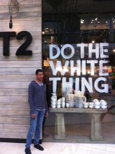 Do the white thing? -_-