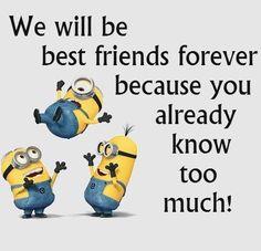 Minion friends! BFF
